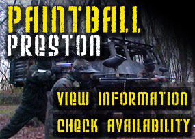 Frontline Paintball site, Leisure Lakes Southport near Preston